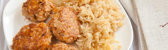 Как приготовить тефтели с рисом с подливкой (французской и итальянской)