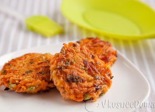 Морковные котлеты рецепт без манки с пошагово в