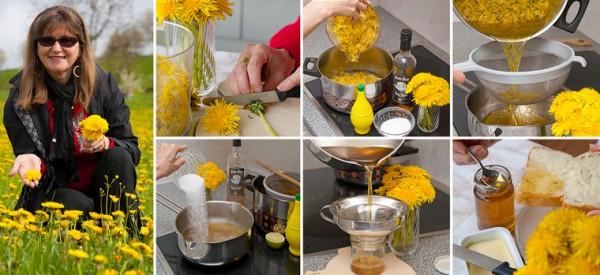 Рецепт варенья из одуванчиков