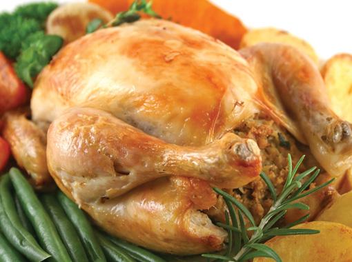 Курица целиком в духовке и маринад для курицы в духовке