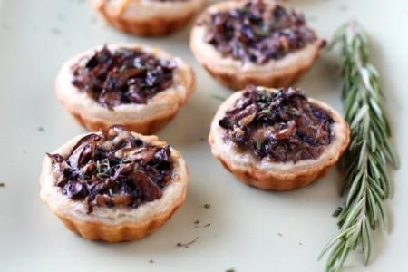 рецепт начинки тарталеток с грибами