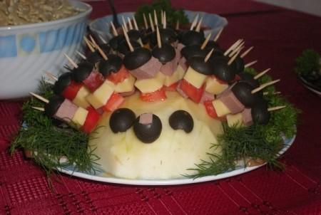 Простые закуски для детского праздника