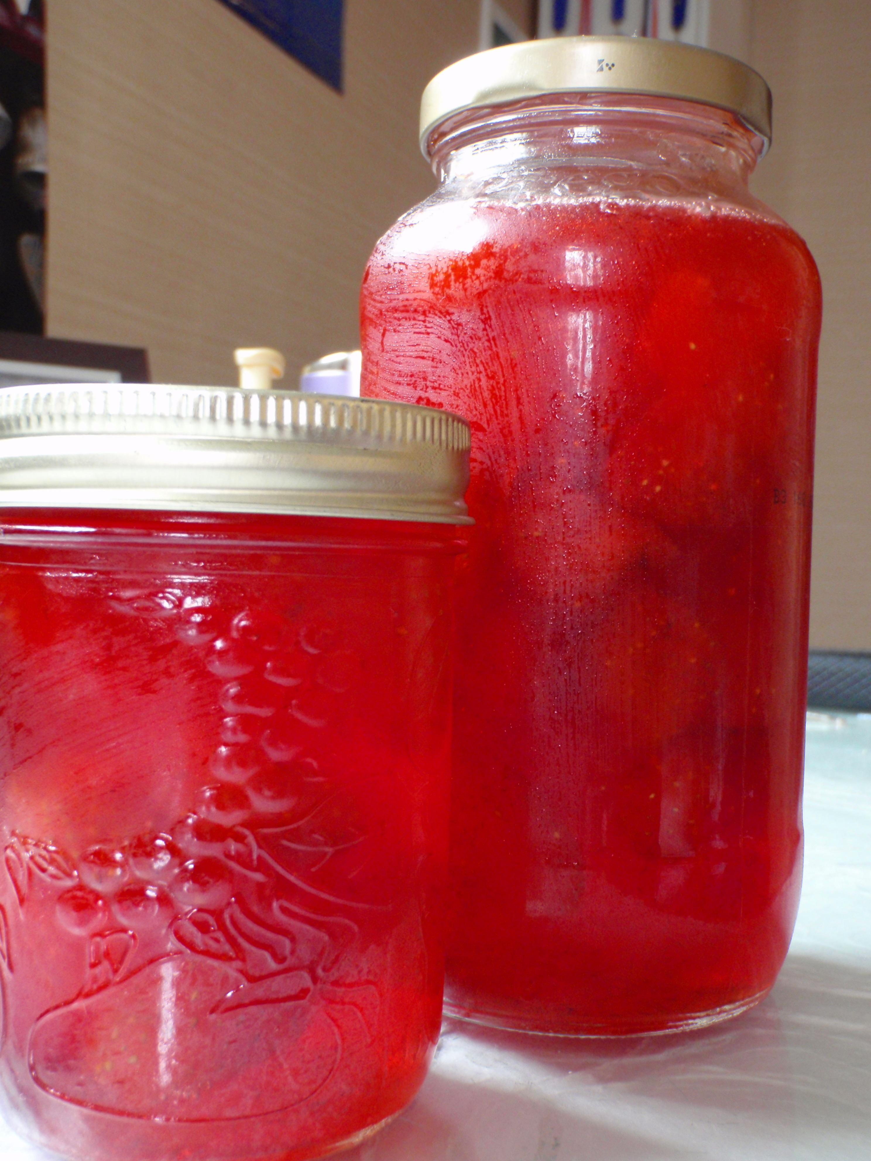 Как варить компот из клубники на зиму, 4 рецепта клубничного 58