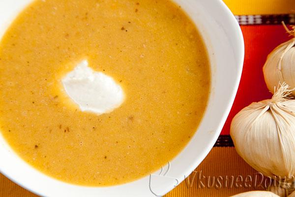 тыквенный суп рецепт с фаослью
