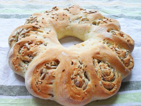 домашний хлеб рецепт Праздничный