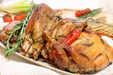 Рецепт приготовления кролика с овощами