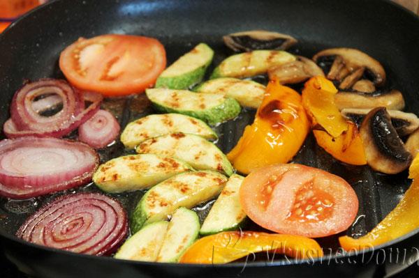 картошка на сковороде гриль рецепты с фото