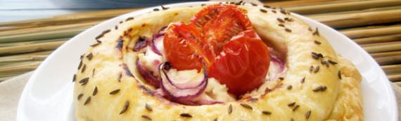 Пирожки с сыром  средиземноморские