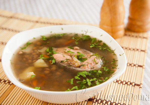 суп из чечевицы зеленой