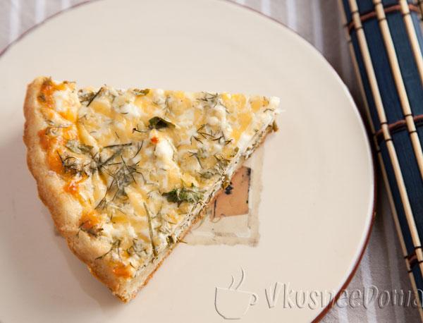 Нежнейший и простейший пирог с сыром рецепт с фото