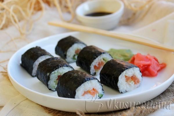 Маки - суши дома рецепт пошаговый