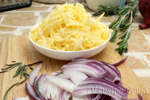 трем крупно сыр