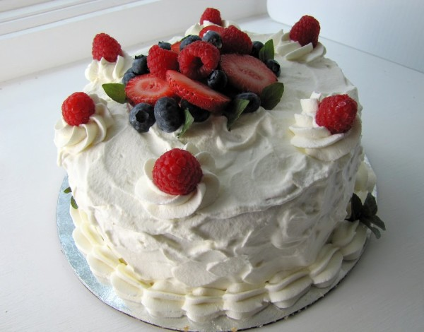 белковый крем для торта классический