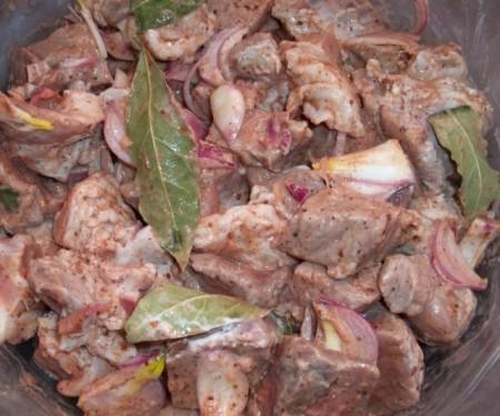 Барбекю из баранины рецепты маринада проект бани с барбекю