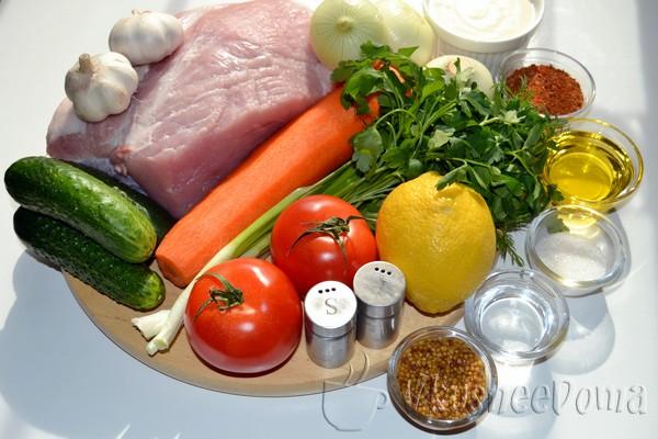 продукты для шашлыка