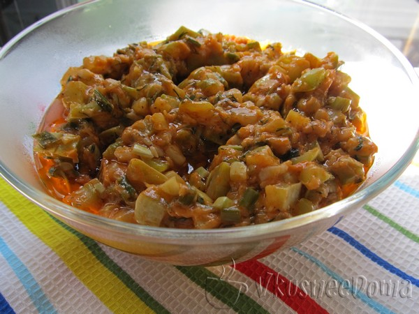 рецепты и приготовление кабачковой икры