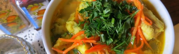«Дыхание лета» — суп с клецками пошаговый рецепт с фото