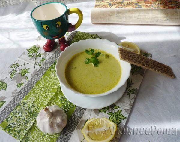 суп пюре из брокколи диетический