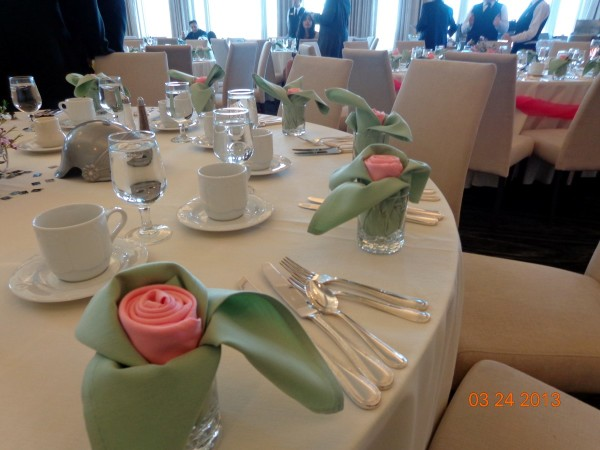 Rose Napkins 2