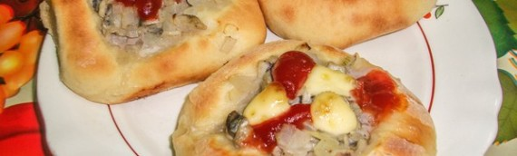 Мини пицца рецепт с рыбной начинкой