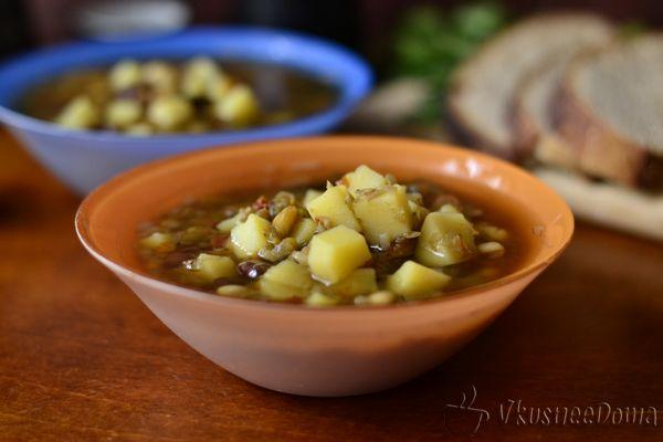 азиатский суп из бобов
