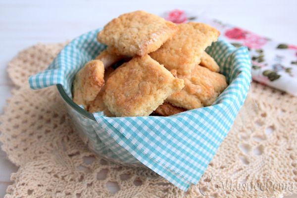 Лимонное печенье рецепт без яиц и молока