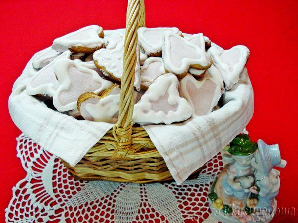 песочное печенье Сердечки