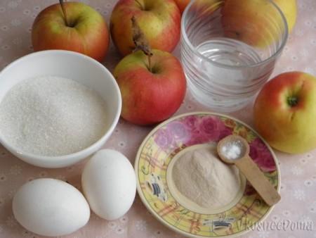домашний зефир из яблок рецепт с фото