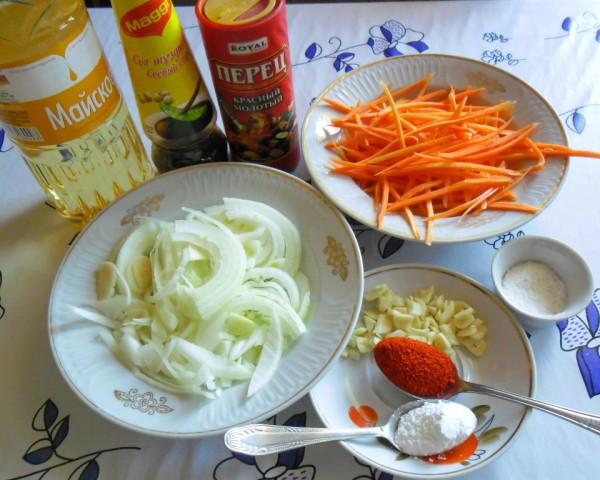 как приготовить хе из толстолобика в домашних