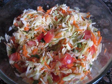 Салат из свежей капусты рецепт 1-13
