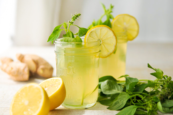 Напитки из имбиря для похудения в домашних