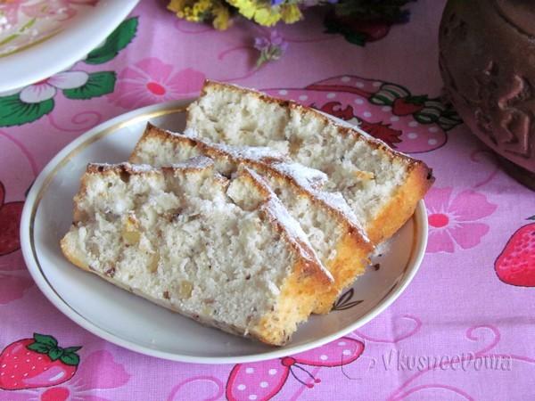 Кекс ореховый рецепт с фото