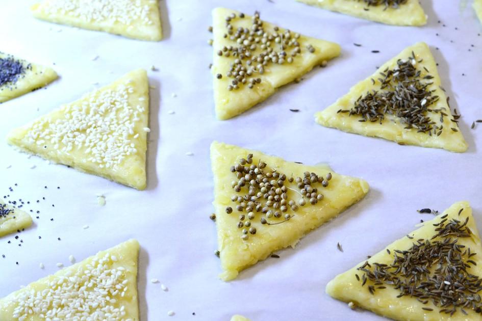сырное печенье рецепт с фото пошагово в духовке