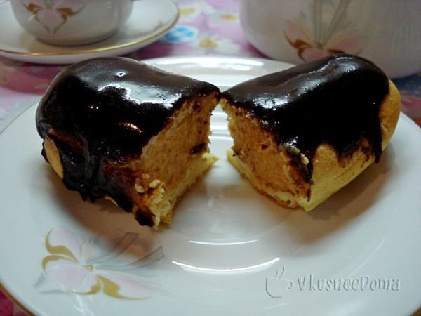 Как сделать заварные пирожное