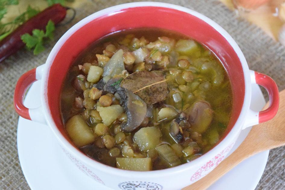 Грибной суп из замороженных вареных грибов рецепт