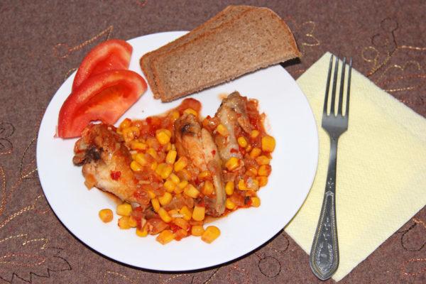 Как приготовить крылышки куриные на сковороде