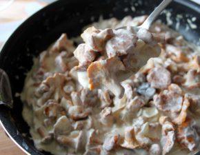 Лисички жареные рецепты приготовления в сметане