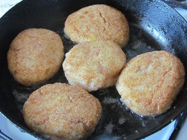 Котлеты из пангасиуса рецепт с фото