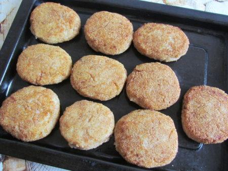 рубленные котлеты из пангасиуса рецепт с фото