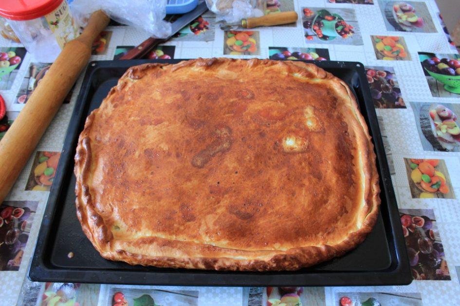 Рыбный пирог из сайры рецепт быстро 31