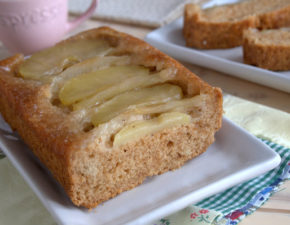 Карамельная постная шарлотка с яблоками очень вкусно