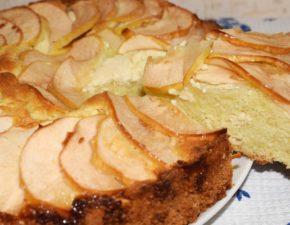 Пирог с творожной начинкой Нежность