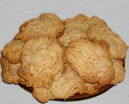 Печенье «Гусиные лапки».