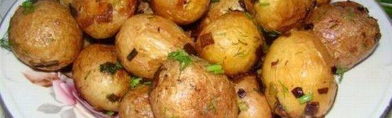 Картошка в мундире — рецепты для запекания в духовке