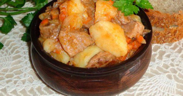 Бигус с картошкой