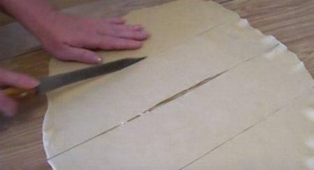 Разрезать пласт на пластины