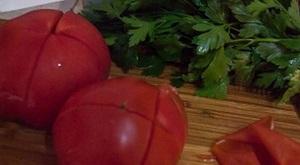 Снять шкурку с помидор