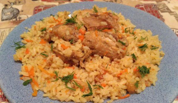 Кролик с рисом