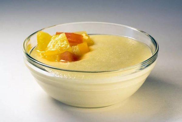 Манка на фруктовом сиропе