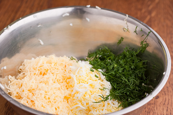 готовим сырную пасту